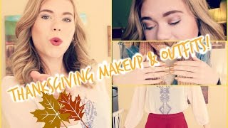 Thanksgiving Makeup & Outfit Ideas! // Makeupkatie95 Thumbnail