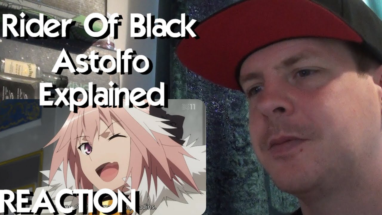 Rider of Black: ASTOLFO EXPLAINED - Fate Apocrypha REACTION