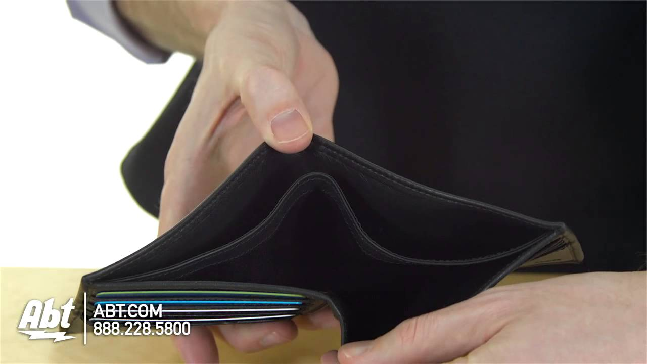31ce45499646 Tumi Delta Global Double Billfold With Snap Wallet Overview - YouTube