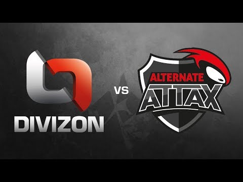 DIVIZON vs. ALTERNATE aTTaX - ESL Wintermeisterschaft 2017 Finals - Train (Map 2/2)