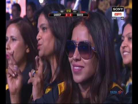 PWL 3 Day 13: Sandeep Tomar VS Naveen Kumar at Pro Wrestling League season 3 |Full Match