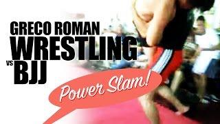 Greco Roman Wrestling vs BJJ Brazilian Jiu jitsu