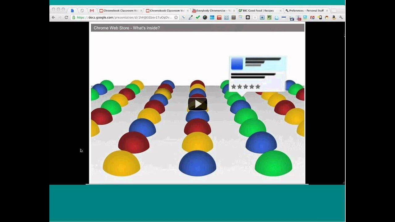 Chromebook Classroom Webinar: Exploring Web Apps and Extensions ...