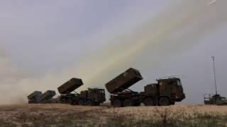 육군, '천무' 유도탄 360여 발 실 사격 현장
