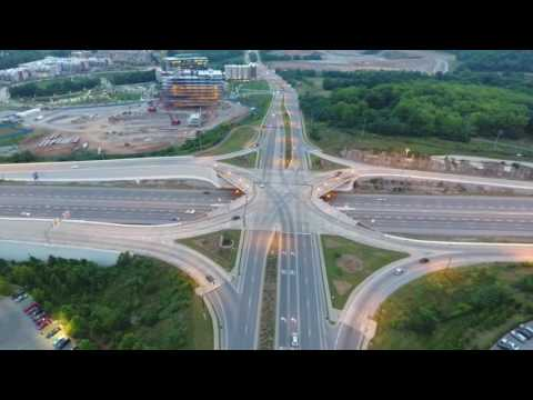 Aerial View: Franklin, Tn