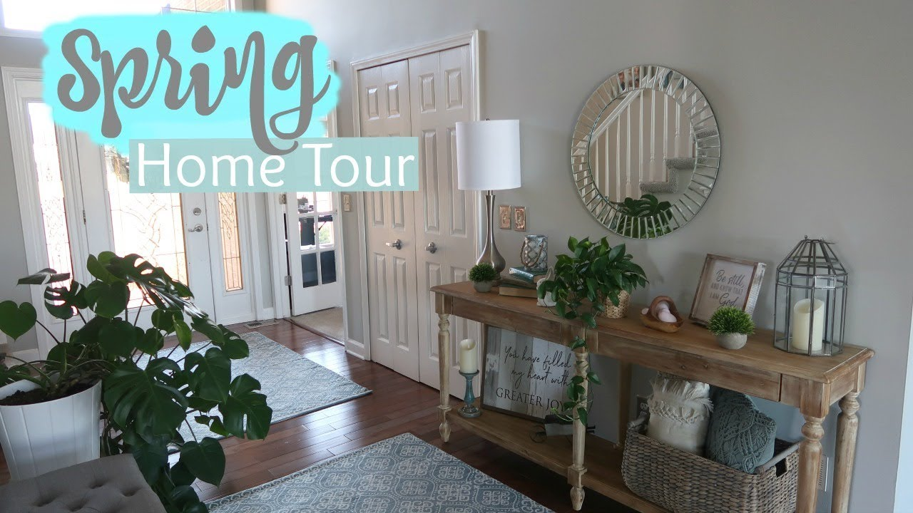 Spring Home Tour 2019 Spring Home Decor Easter Decor
