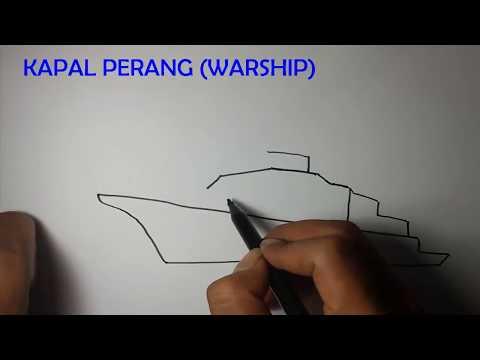 424 Mb Cara Mudah Menggambar Kapal Tempur Mp3 Video Mp4 Track On Mp3
