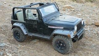 Jeep Wrangler TJ Rubicon 1:6 Scale Crawling Offroad (New Bright)