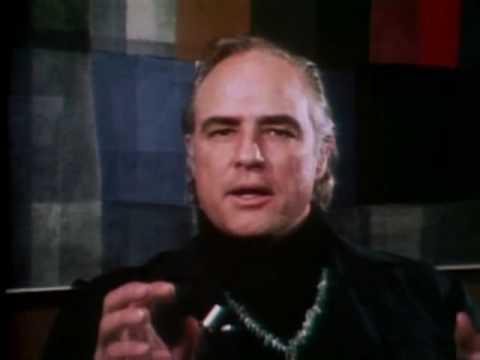 Interview clips with Marlon Brando