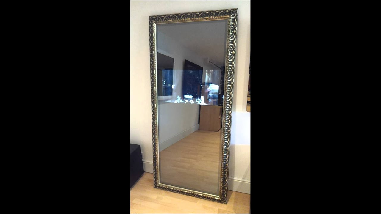 Full length Leaning LED Mirror TV by MirrorTVs.com