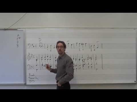 Dr. B Music Theory Lesson 9 (Realizing Figured Bass with Lead Sheet Symbols)