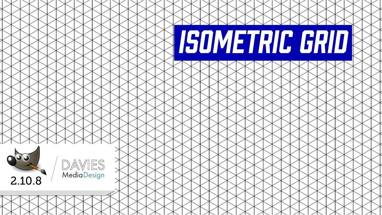 How to Create an Isometric Grid in GIMP 2 10
