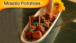 Masala Baby Potatoes - A Recipe By Annuradha Toshniwal - Vegetarian [hd]