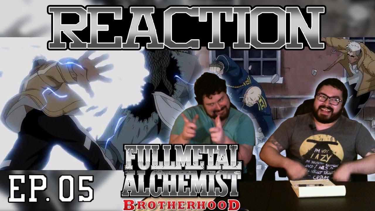 "Fullmetal Alchemist Brotherhood English Dub Episode 5 REACTION - ""Rain of Sorrows"" - YouTube"