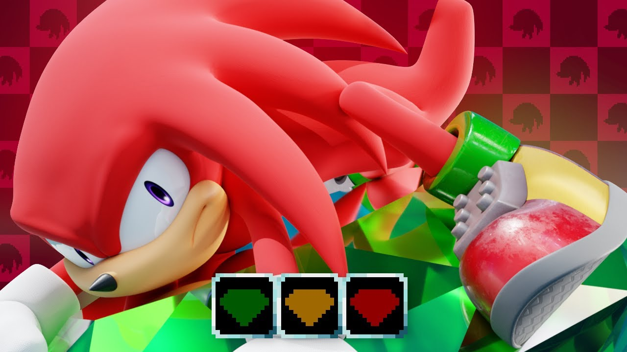 Sonic Mania Plus: Knuckles Treasure Hunting Expansion