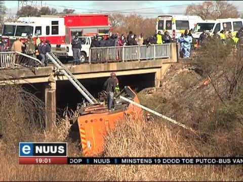 eNuus | 19 Commuters Killed In Gauteng Bus Crash