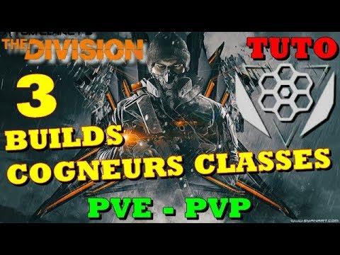 [ THE DIVISION FR 1.8 ] 3 BUILDS COGNEUR CLASSE PVE - PVP version 1.8