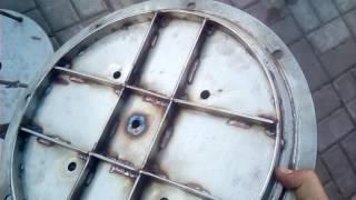 Самодельный автоклав из нержавеющей стали. Обзор.
