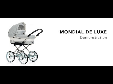 Emmaljunga Mondial De Luxe • Demonstration Video (FULL) | Emmaljunga