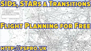 Easy SIDs, STARs, Transitions and Flight Plans for FREE