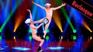 השפים הצרפתיים בורלסק,  קומדיה וצחוק
