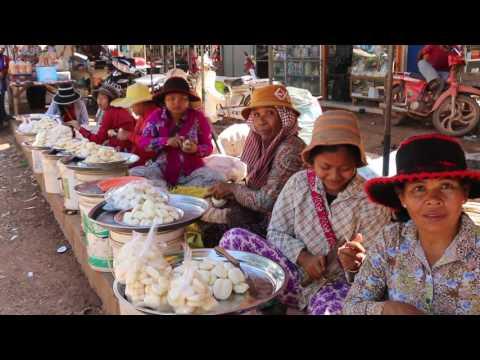 Market Street Food At Oudong Resort, Cambodian Food