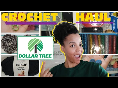 Dollar Tree Craft Supplies - Crochet Dollar Store Haul