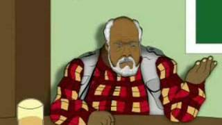 """Nutty Professor 3 """"animated"""" Dinner with the Klumps"""