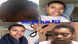 college vlog 13 i did the big chop