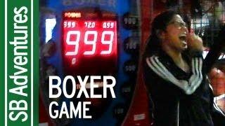 Getting 999 Boxer Punching Game