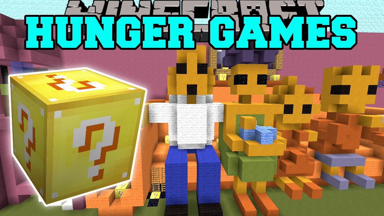 Minecraft hunger games mystery box gamesworld for Mine craft hunger games