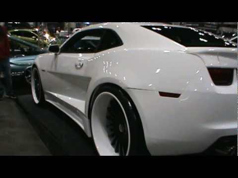2012 Wide Body Chevy Camaro Zl1 At The 2011 Dub Show Youtube