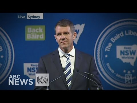 NSW Premier Mike Baird launches Liberal election campaign
