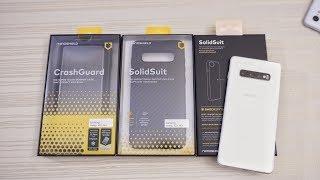 Samsung S10 Plus Rhinoshield CrashGuard Bumper and SolidSuit Cases!