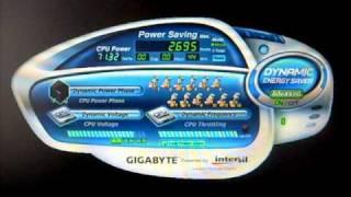 gigabyte EX58-UD5 - Dynamic Energy Saver RAM LED