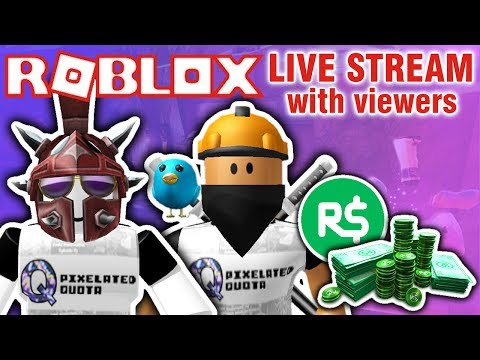 🔴 ROBLOX: PLAYING WITH VIEWERS & ROBUX GIVEAWAY! 🔴 ROAD TO 10K!!!