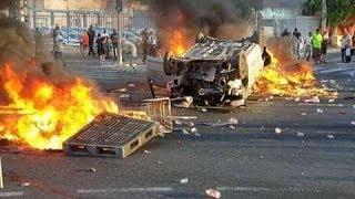 مظاهرات فى إسرائيل الآن،،تل أبيب تشتعل