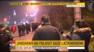Jandarmeria Romana: Suntem indreptatiti sa folosim forta