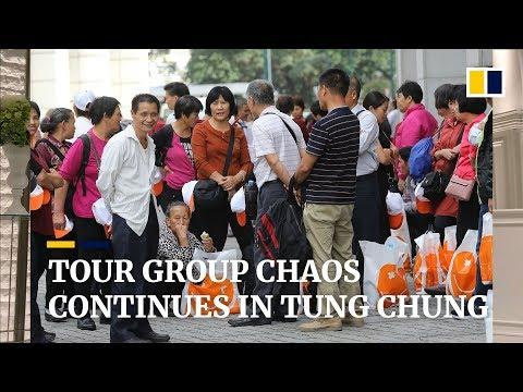 Tung Chung plagued by large tour groups since the Hong Kong-Zhuhai-Macau Bridge opened