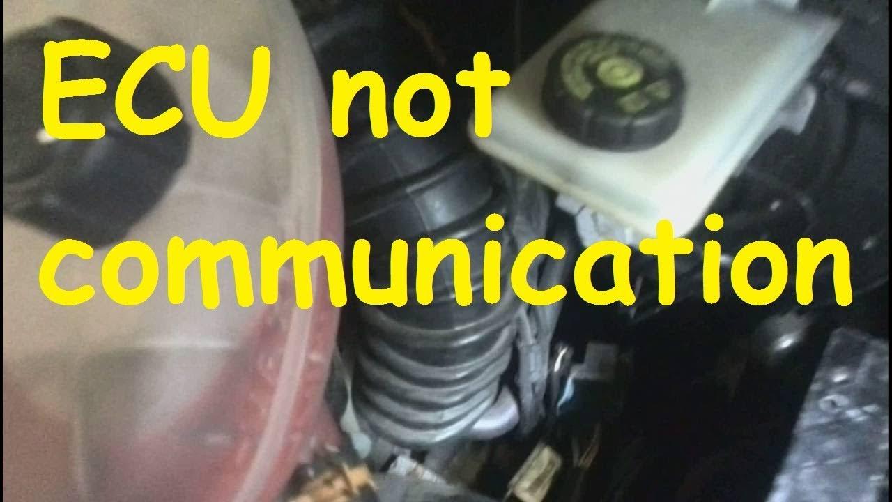 Renault Trafic Ecu Wiring Diagram Sr20de Distributor Opel Vivaro Nissan Primastar / Not Communication - Youtube