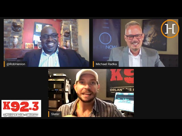 Up Close and Personal - Interview with Radio Host Slater of K92.3 FM Orlando