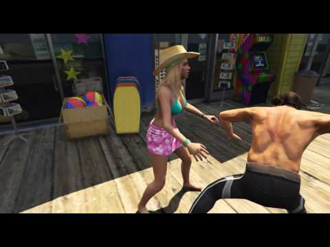 GTA V Belly Punch Ryona Part 2