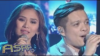 "Sarah Geronimo, Bamboo sing ""Almost Is Never Enough"" on ASAP"