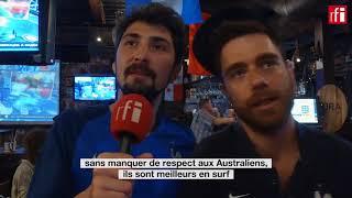 France-Australie: des supporters français en état de stress #Cdm2018 #FRAAUS