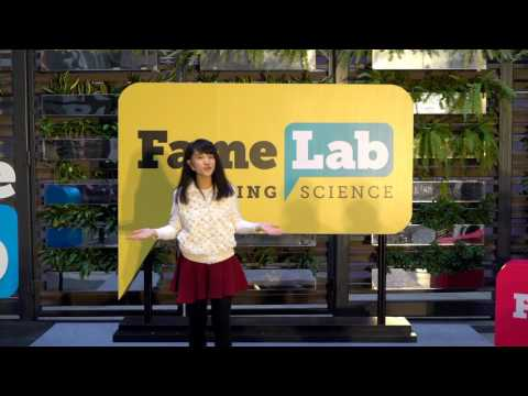 FameLab HK 2017 Grand Final finalists: Music: Your Great Stress Killer by Carol Lee