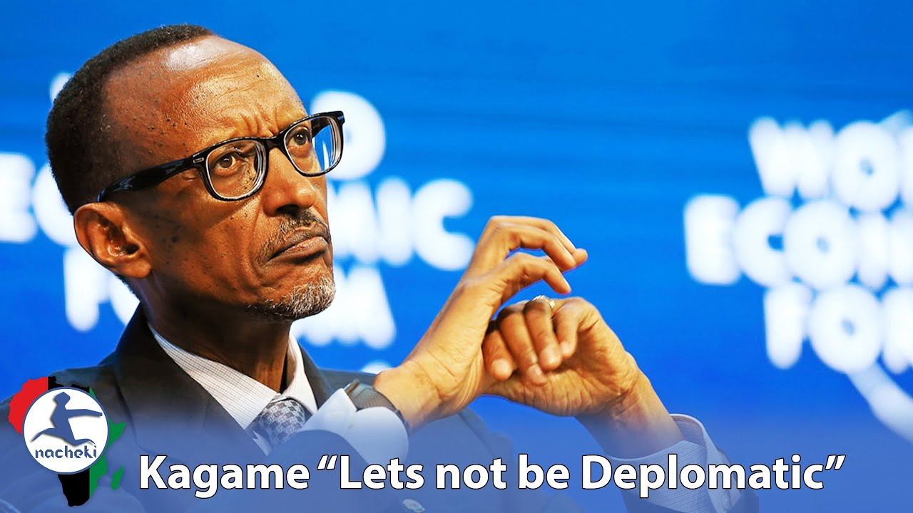 Kagame's Undiplomatic Speech that Western Aid to Africa is a Blander Just a Political Tool