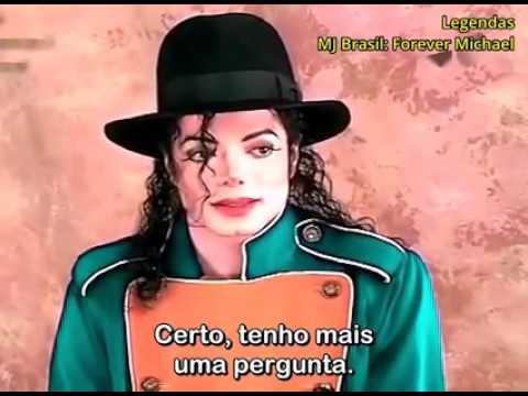 Michael Jackson  interview in Brasil 1996