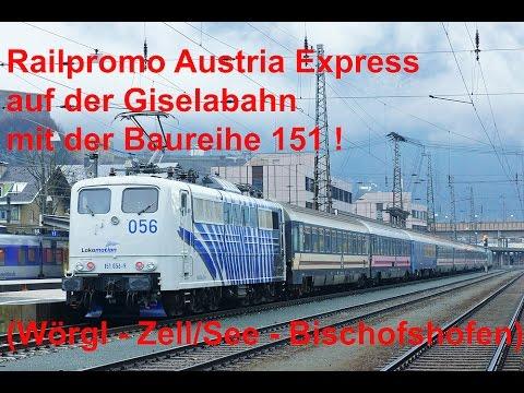 4K Cabview / Führerstandsmitfahrt BR 151 @ Reisezug! Pass Grießen / Giselabahn Wörgl - Bischofshofen