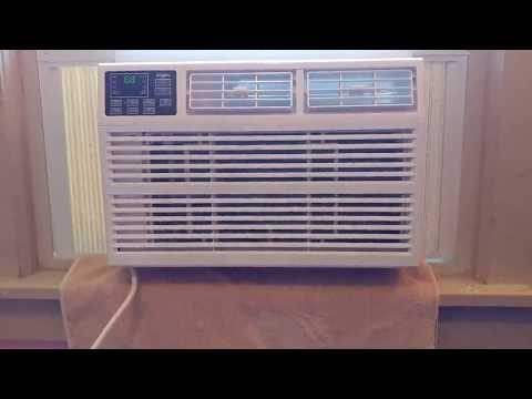 Whirlpool Energy Star 6,000 BTU 115V Window Mounted Air Conditioner Review, Nice small air condition