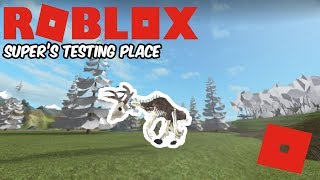 Roblox Super test posto - Wendigo Therizino di Supernob!